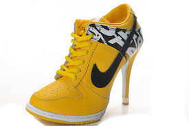 womens boots yellow nike dunk sb low heels boots yellow black for 45757