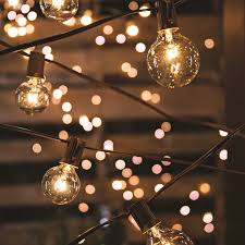 globe string lights mainstays 20 count frosted gl globe string