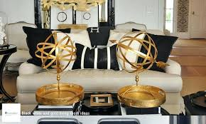 Black And Gold Living Room Furniture Black And Gold Living Room Decor Black White And Gold Living Room