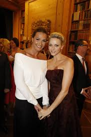 Exudes by Princess Charlene Exudes Beauty And Elegance At Berlin Charity