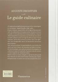cuisine escoffier escoffier le guide culinaire aide memoire de cuisine pratique