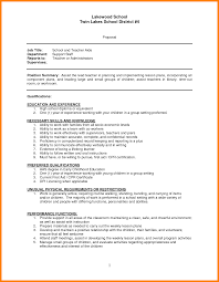 Forklift Experience On Resume 9 Resume For Teacher Assistant Forklift Resume