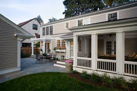 greek revival remodel screened porch traditional porch
