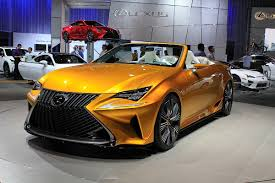 lexus convertible near me la auto show live lexus brings their top down for a new addition
