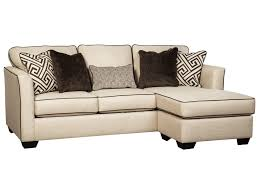 benchcraft carlinworth contemporary sofa chaise with contrast