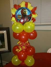 birthday balloons for men iron birthday party ideas yellow punch iron