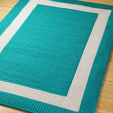 Aqua Outdoor Rug Border Braided Indoor Outdoor Rug Outdoor Decorator Pinterest