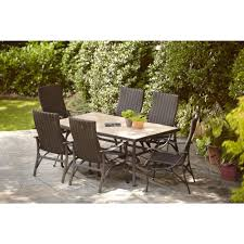 Patio Dining Sets For 4 by Hampton Bay Pembrey 7 Piece Patio Dining Set Patio Dining