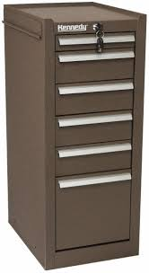 6 drawer brown side cabinet 03206489 msc