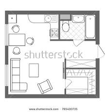sketch of a bedroom stock images royalty free images u0026 vectors