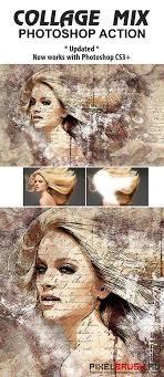 tutorial double exposure photoshop cs3 graphicriver collage mix photoshop action photography pinterest