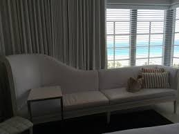 South Beach Sofa Closet And Minibar Picture Of Sls South Beach Miami Beach