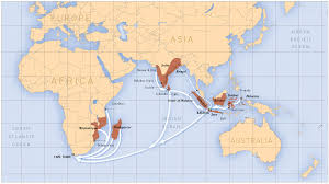 Cape Of Good Hope On World Map by Plos One Dynamics Of Indian Ocean Slavery Revealed Through