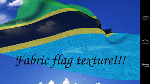 Flag Of Tanzania 3d Tanzania Flag Lwp Android Apps On Google Play