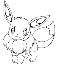 cute eevee pokemon coloring pages pokemon coloring pages