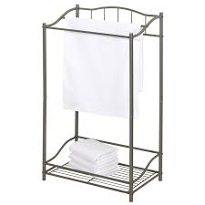 bathroom target towel bar countertop towel holder standing