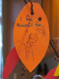 the thankful tree a thanksgiving craft and centerpiece thriving