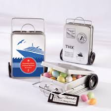 Suitcase Favors by Personalized Mini Suitcase Favor Tins Set Of 12