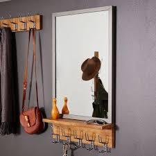 Entryway Mirrors And Grey Industrial Entryway Mirror