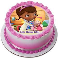 doc mcstuffin cake toppers doc mcstuffins 2 edible birthday cake or cupcake topper edible