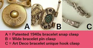 necklace clasps vintage images Vintage jewelry hardware how to date your jewelry based on png