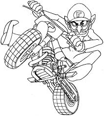 game mario kart coloring pages baby peach mario kart coloring