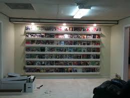 comic book room display shelves rain and shelves
