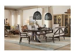 hooker furniture dining room hooker furniture american life roslyn county trestle dining