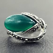 stone rings design images Nepal ring vintage jewelry fashion creative design antique silver jpg