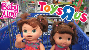 baby us baby alive toys r us outing