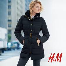nice looking h u0026m belted padded puffer coat my favourite long