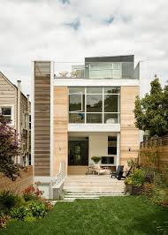 unconventional three story atrium house in san francisco