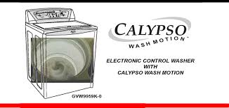 whirlpool calypso washer repair guide applianceassistant com