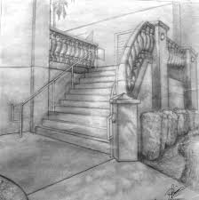 decorating with antiques ideas for the home inspired by clines staircase in two point perspective refined sketch furniture cheap home decor online cheap home