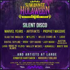 spirit of suwannee halloween suwannee hulaween 2016 silent disco preview florida music blog
