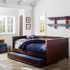 Daybed With Trundle And Mattress Hton Daybed Trundle Pbteen