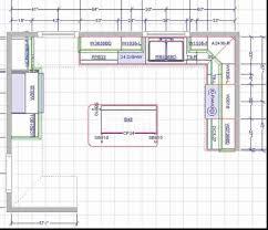 create kitchen floor plan 2d 3d floor plans of a kitchen design