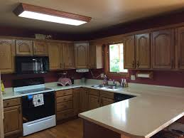 craftsman kitchen with u shaped u0026 raised panel in jefferson city
