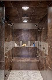 ceramic tile shower shelves bathroom contemporary with bath design