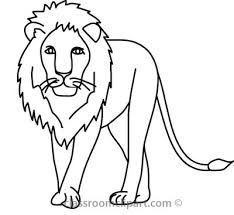 drawing lion clip art library