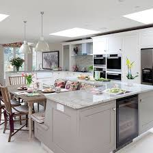 grey kitchen island best 25 kitchens with islands ideas on kitchen stools