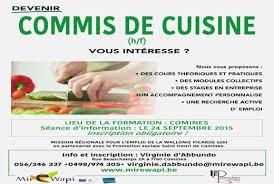 commis de cuisine fiche m騁ier fiche metier cuisine 100 images fiche de poste chef de cuisine