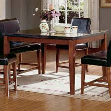 kitchen marble top dining tables granite top dining table set design ideas counter