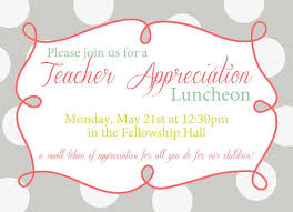 luncheon invitation wording appreciation luncheon invitation wording teachers