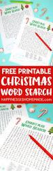 printable christmas word search for kids u0026 adults happiness is