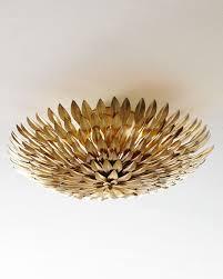 gold flush mount light golden mum flush mount light fixture