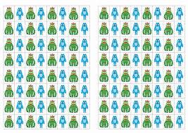 yo gabba gabba stickers u2013 birthday printable