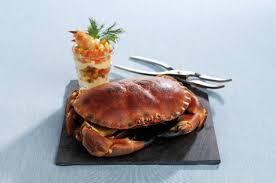 cuisiner un tourteau tourteau d irlande entier cuit le tourteau les autres crustacés