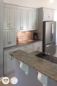 slate appliances with gray cabinets slate appliances a palette pleaser love the grey counters white