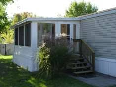 Closed In Patio Dacraft Dayton Ohio Mobile Home Products Roofing Patio